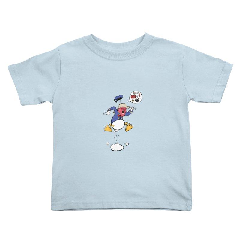 Donald Kids Toddler T-Shirt by Mantichore Design