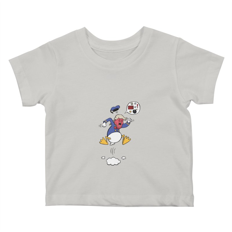 Donald Kids Baby T-Shirt by Mantichore Design