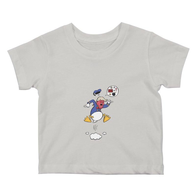 Donald Kids Baby T-Shirt by Mantichore's Artist Shop