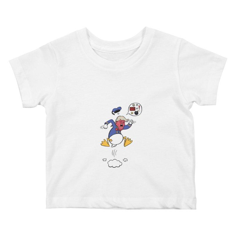 Donald Kids Baby T-Shirt by Mantichore Design