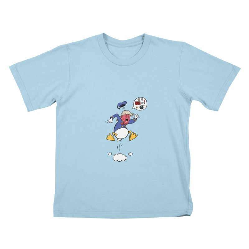 Donald Kids T-Shirt by Mantichore Design