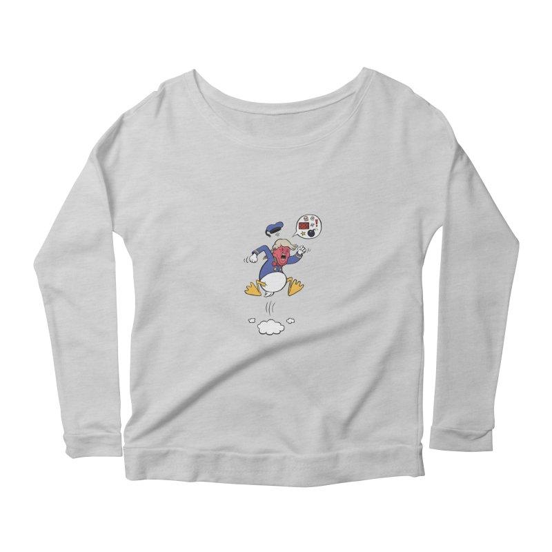 Donald Women's Scoop Neck Longsleeve T-Shirt by Mantichore Design