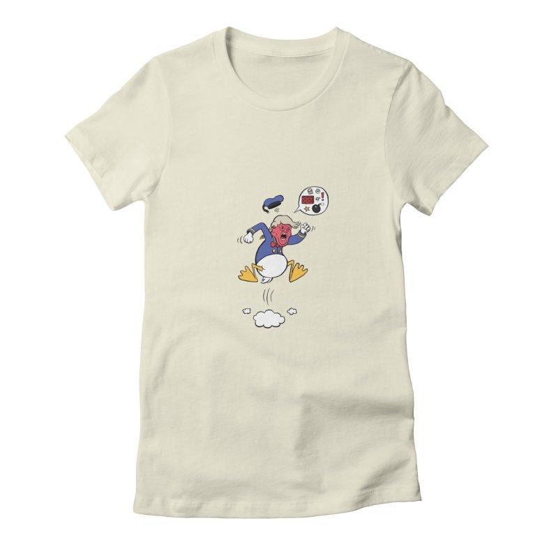 Donald Women's Fitted T-Shirt by Mantichore's Artist Shop