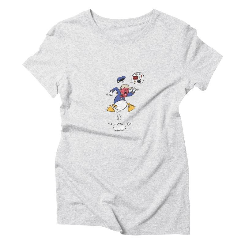 Donald Women's Triblend T-Shirt by Mantichore Design