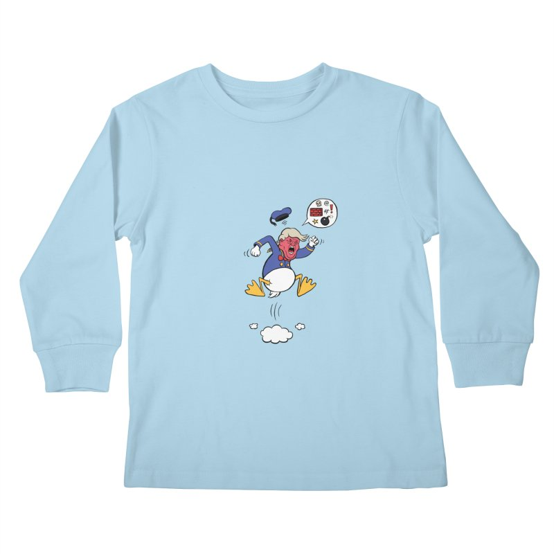 Donald Kids Longsleeve T-Shirt by Mantichore's Artist Shop