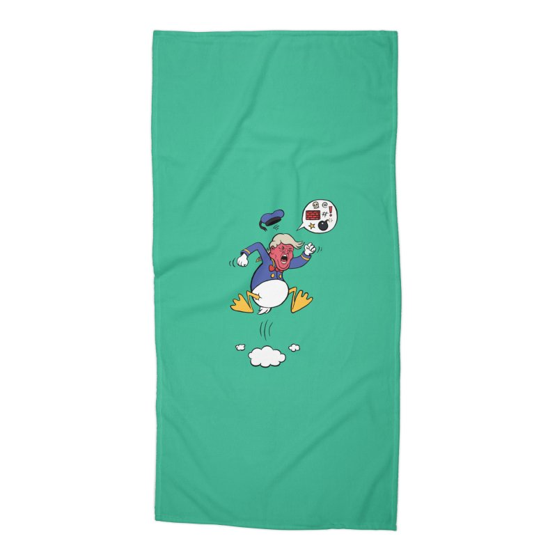 Donald Accessories Beach Towel by Mantichore's Artist Shop