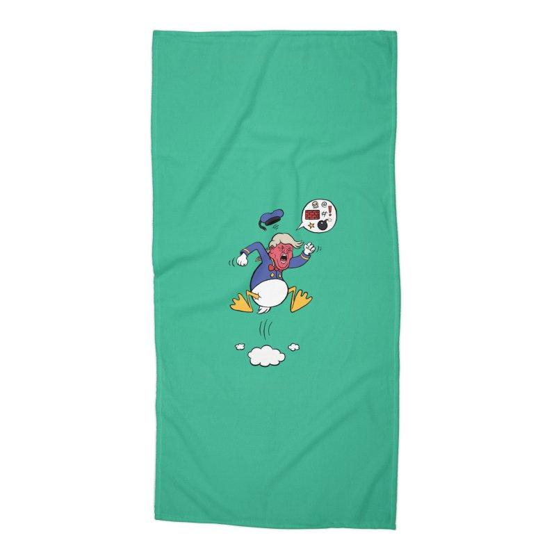 Donald Accessories Beach Towel by Mantichore Design