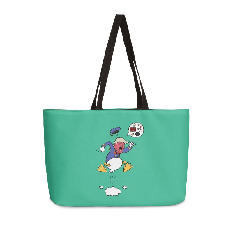 Donald Accessories Weekender Bag Bag by Mantichore Design