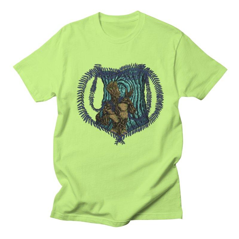 Treehuggers Men's Regular T-Shirt by Mantichore Design