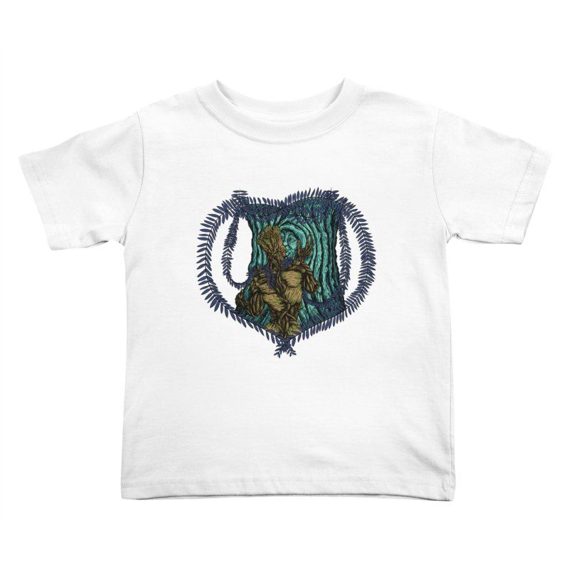 Treehuggers Kids Toddler T-Shirt by Mantichore Design