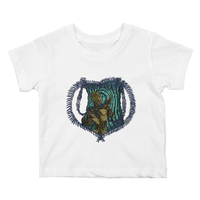 Treehuggers Kids Baby T-Shirt by Mantichore's Artist Shop