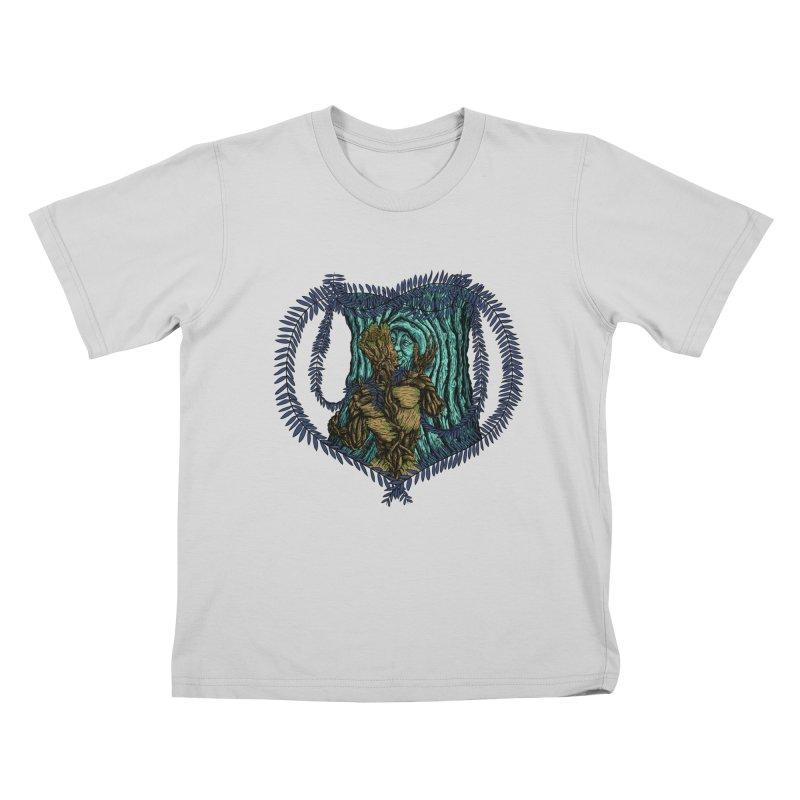 Treehuggers Kids T-Shirt by Mantichore Design