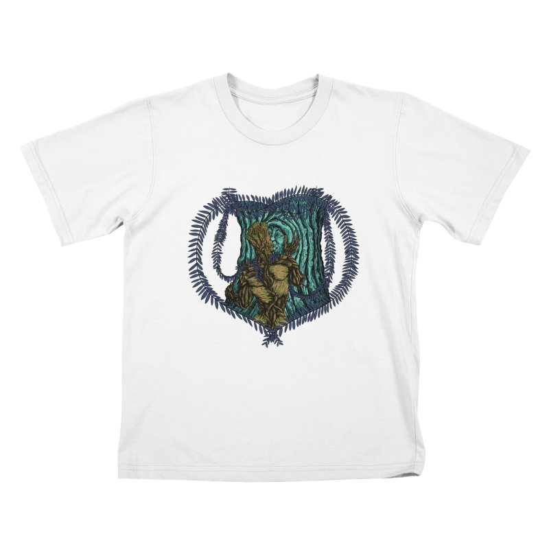 Treehuggers Kids T-shirt by Mantichore's Artist Shop