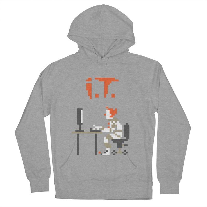 I.T. Men's Pullover Hoody by Mantichore Design