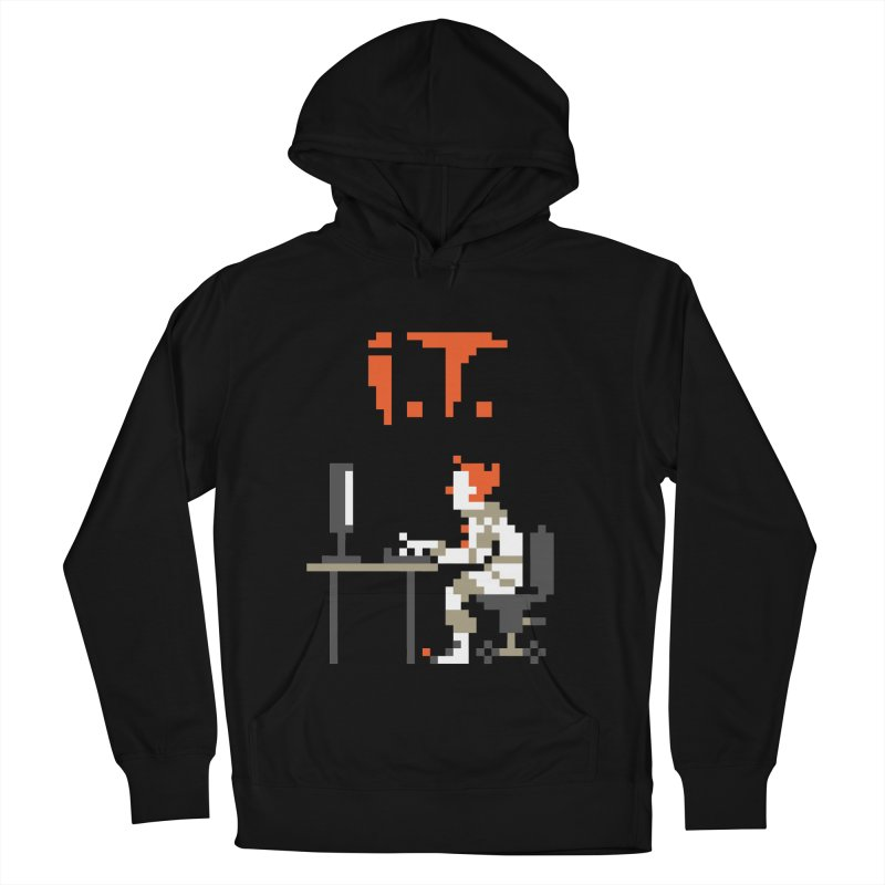 I.T. Men's Pullover Hoody by Mantichore Design