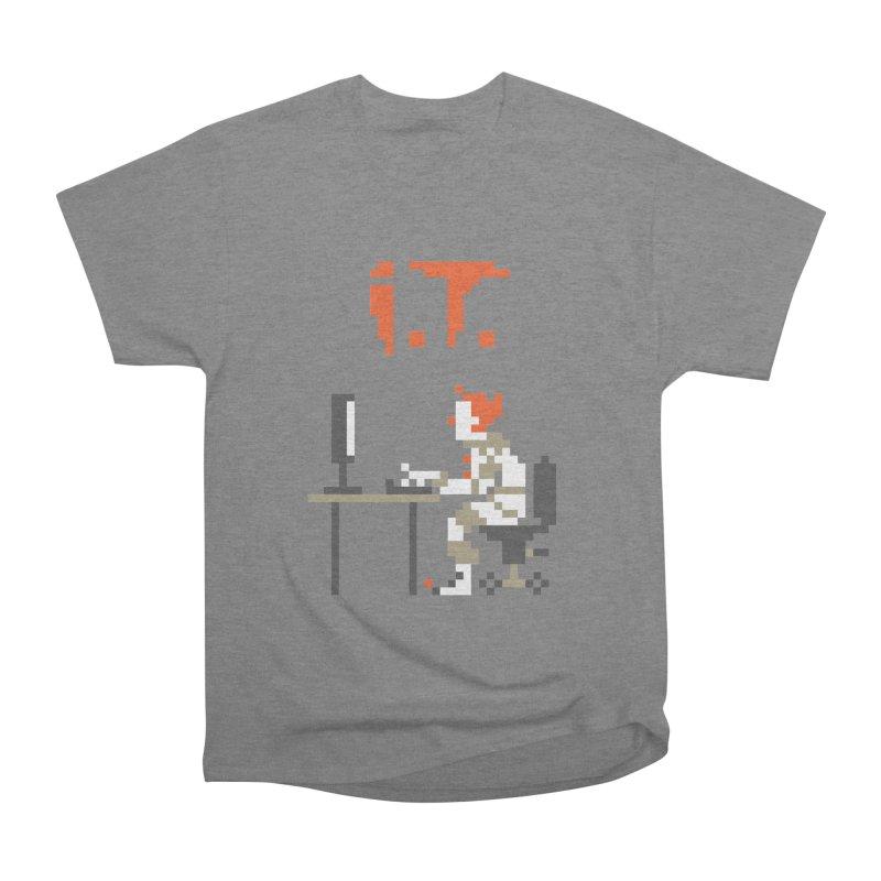 I.T. Men's Heavyweight T-Shirt by Mantichore Design
