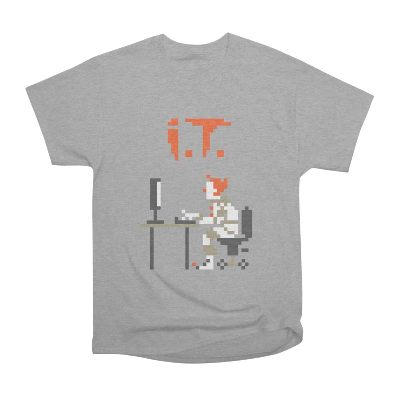 I.T. Men's Heavyweight T-Shirt by Mantichore Design