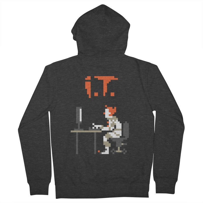 I.T. Women's French Terry Zip-Up Hoody by Mantichore Design