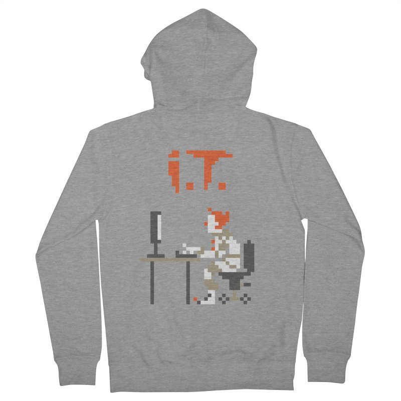 I.T. Men's French Terry Zip-Up Hoody by Mantichore Design