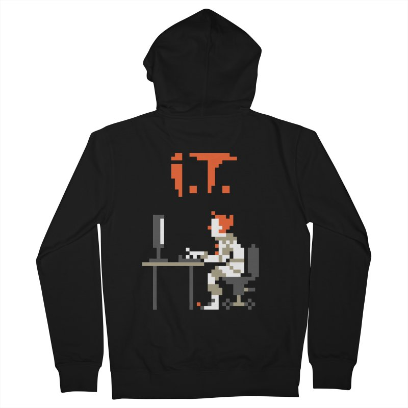 I.T. Men's Zip-Up Hoody by Mantichore's Artist Shop