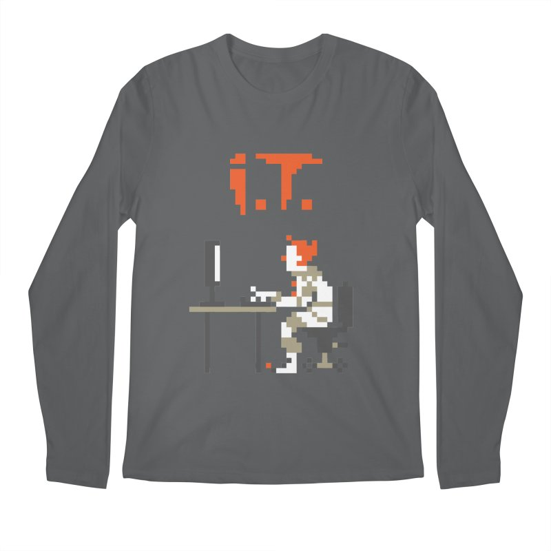 I.T. Men's Regular Longsleeve T-Shirt by Mantichore Design