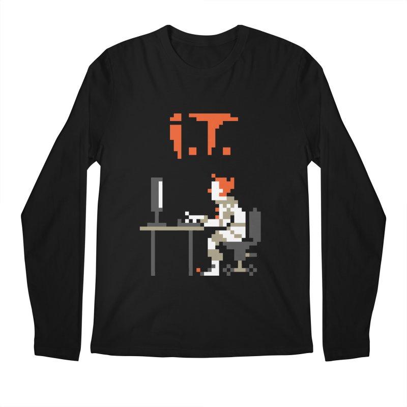 I.T. Men's Regular Longsleeve T-Shirt by Mantichore Design