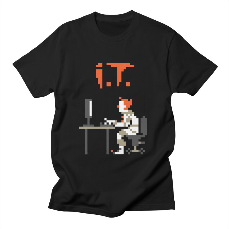 I.T. Men's Regular T-Shirt by Mantichore Design