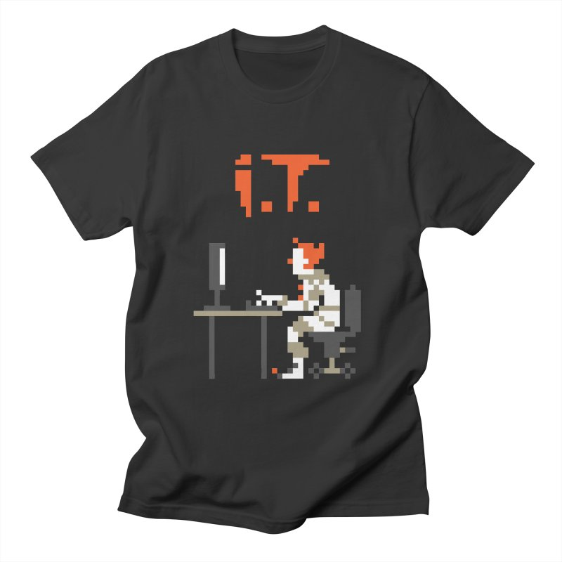 I.T. Men's T-Shirt by Mantichore Design
