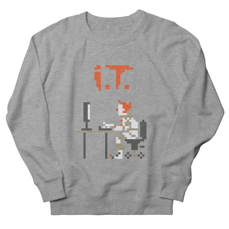 I.T. Men's French Terry Sweatshirt by Mantichore Design