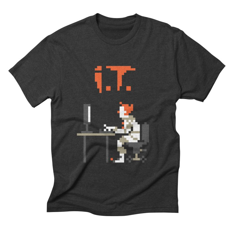 I.T. Men's Triblend T-Shirt by Mantichore Design