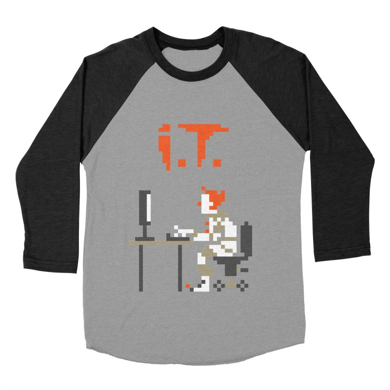 I.T. Women's Baseball Triblend Longsleeve T-Shirt by Mantichore Design