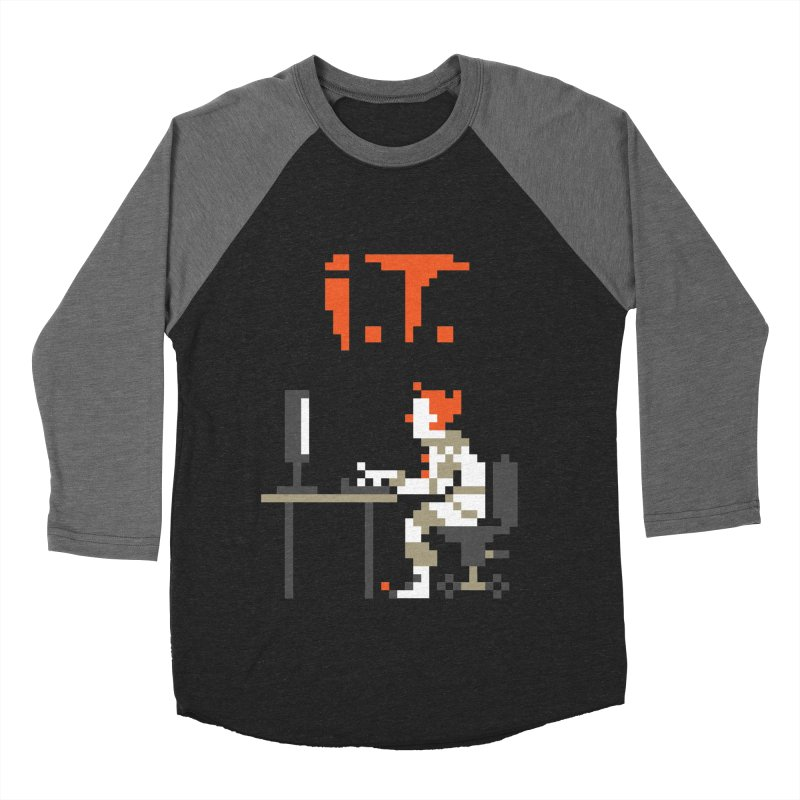 I.T. Men's Baseball Triblend T-Shirt by Mantichore's Artist Shop