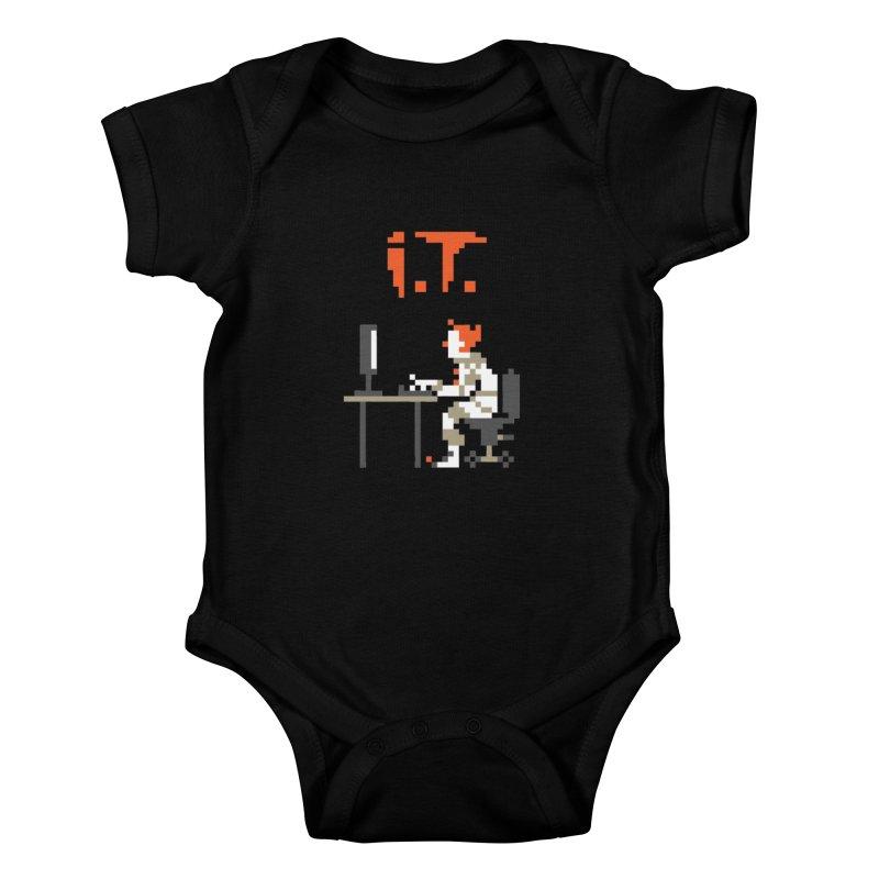 I.T. Kids Baby Bodysuit by Mantichore's Artist Shop