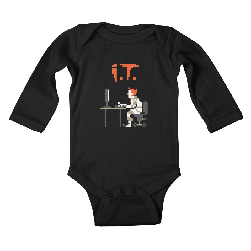 I.T. Kids Baby Longsleeve Bodysuit by Mantichore Design