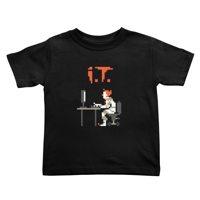 I.T. Kids Toddler T-Shirt by Mantichore Design