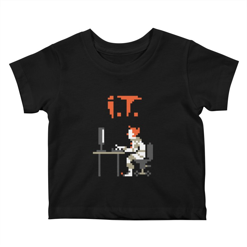 I.T. Kids Baby T-Shirt by Mantichore's Artist Shop