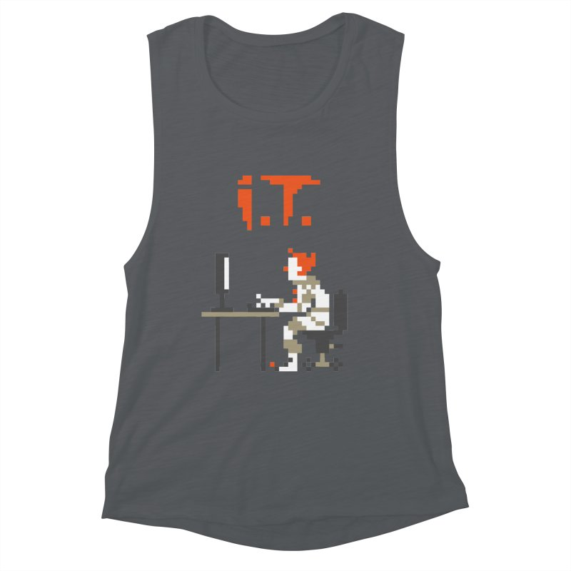 I.T. Women's Muscle Tank by Mantichore Design