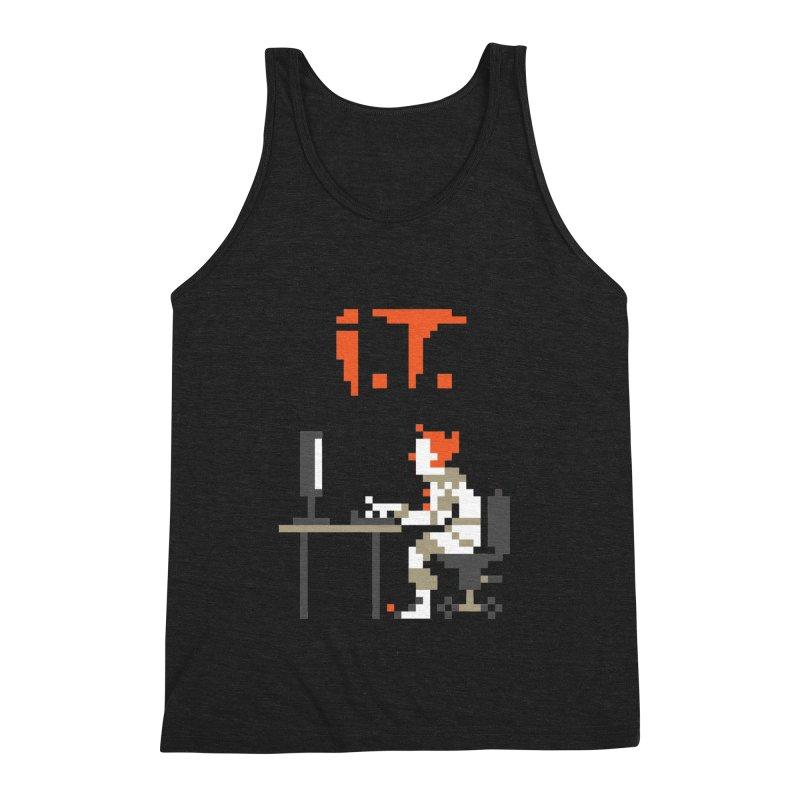 I.T. Men's Triblend Tank by Mantichore Design