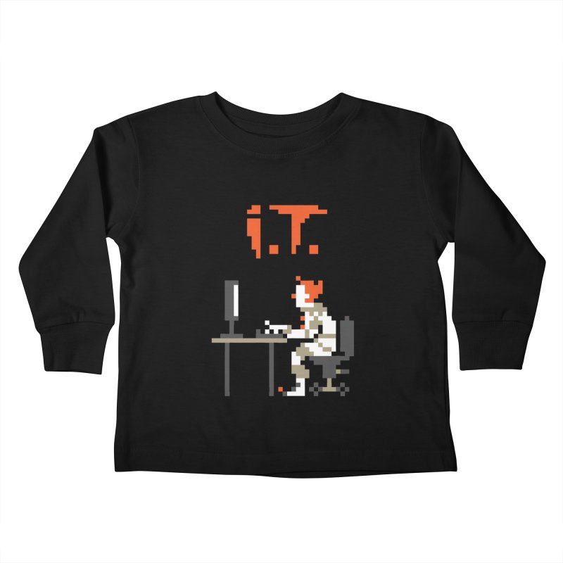 I.T. Kids Toddler Longsleeve T-Shirt by Mantichore Design