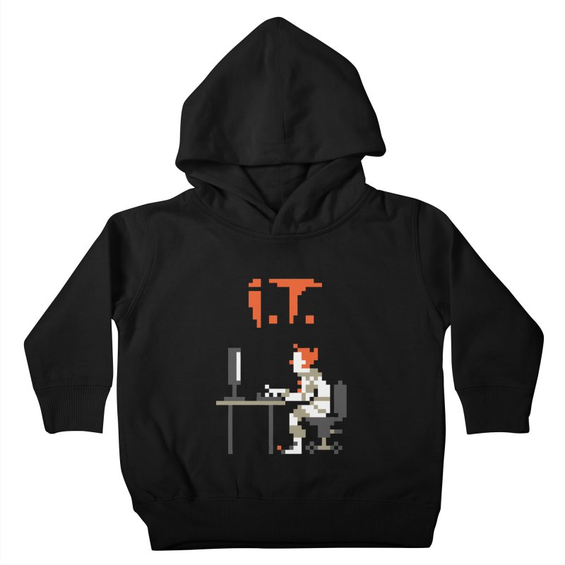 I.T. Kids Toddler Pullover Hoody by Mantichore's Artist Shop