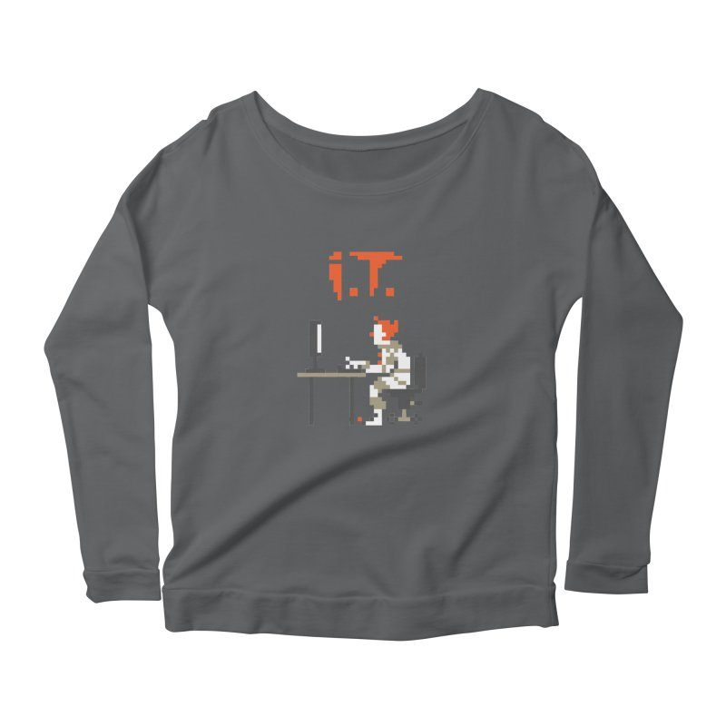 I.T. Women's Longsleeve T-Shirt by Mantichore Design