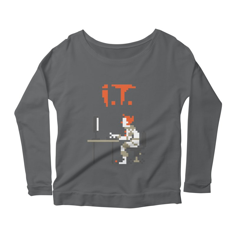I.T. Women's Longsleeve Scoopneck  by Mantichore Design
