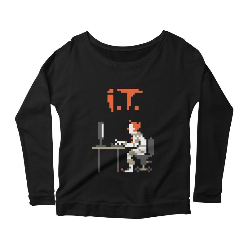 I.T. Women's Scoop Neck Longsleeve T-Shirt by Mantichore Design