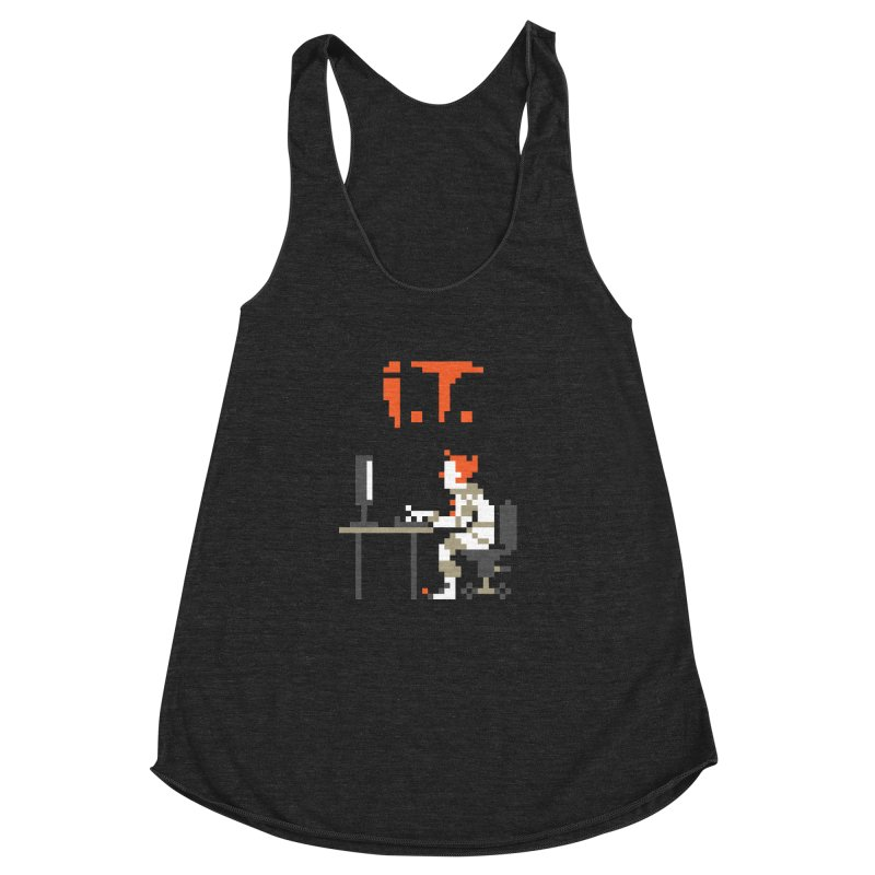 I.T. Women's Racerback Triblend Tank by Mantichore Design