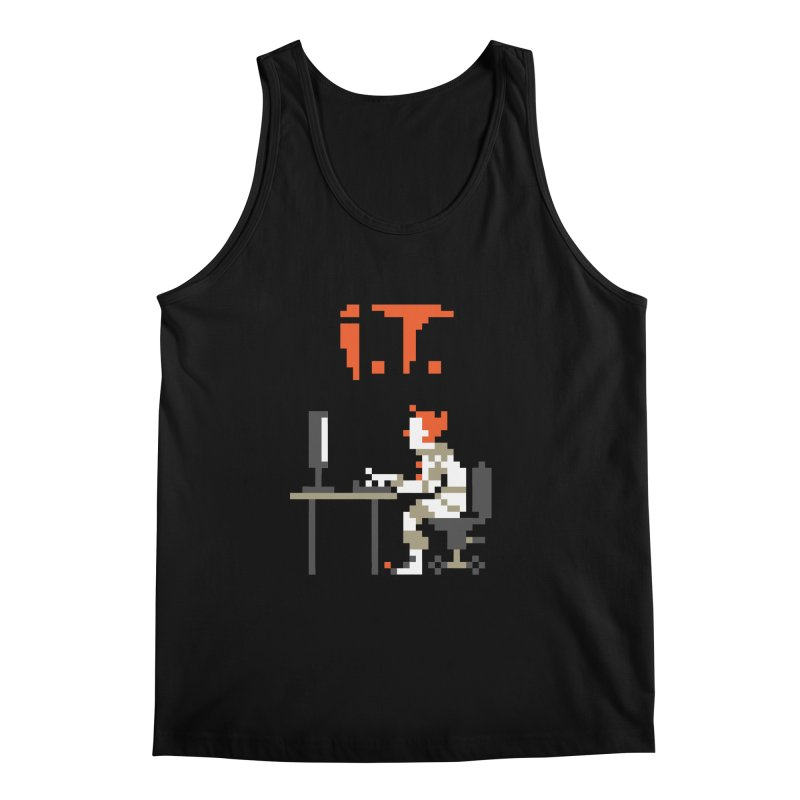 I.T. Men's Regular Tank by Mantichore Design