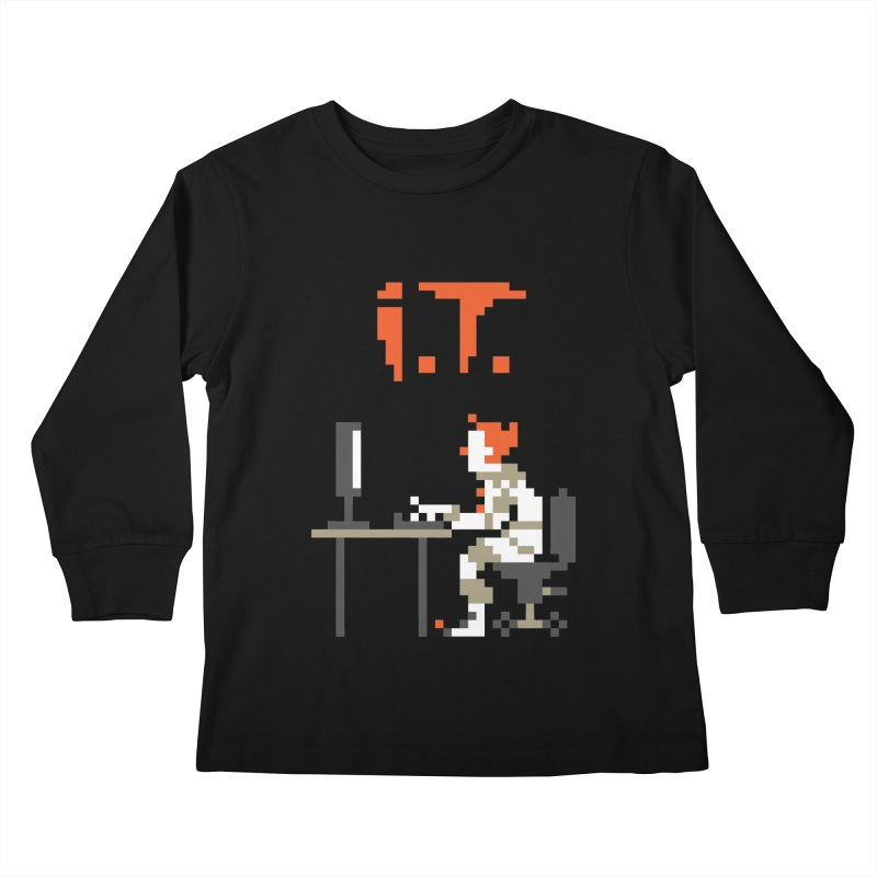 I.T. Kids Longsleeve T-Shirt by Mantichore's Artist Shop