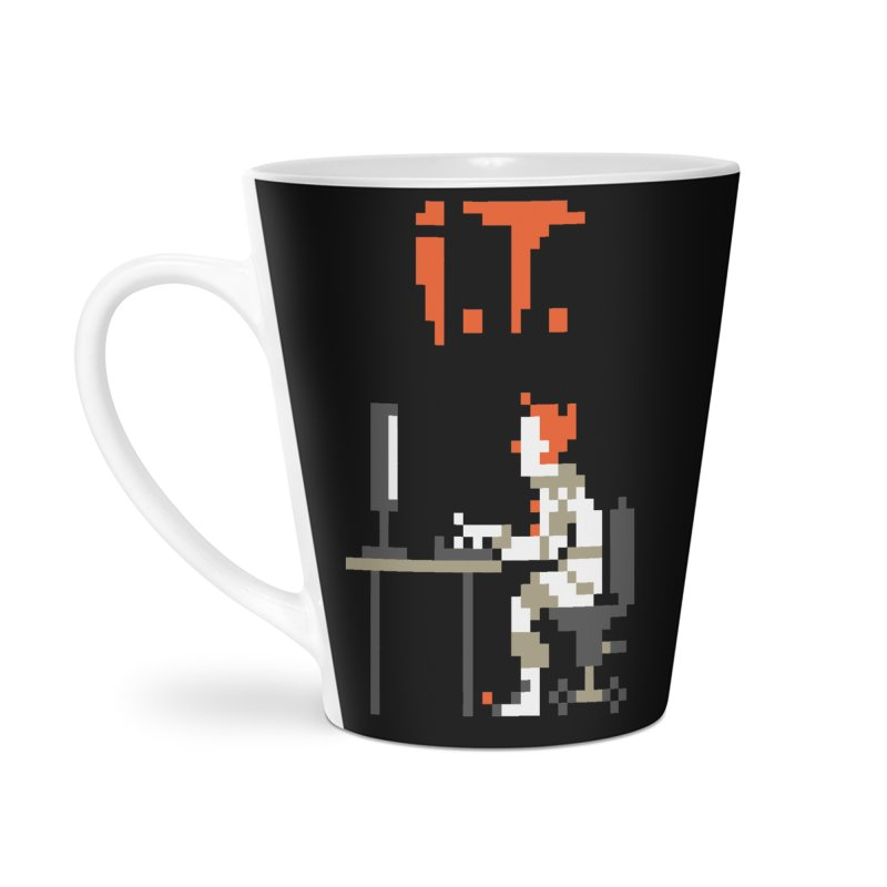 I.T. Accessories Latte Mug by Mantichore Design