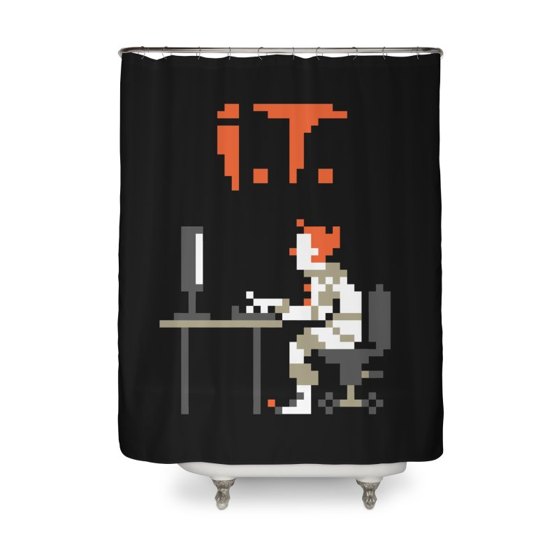 I.T. Home Shower Curtain by Mantichore Design