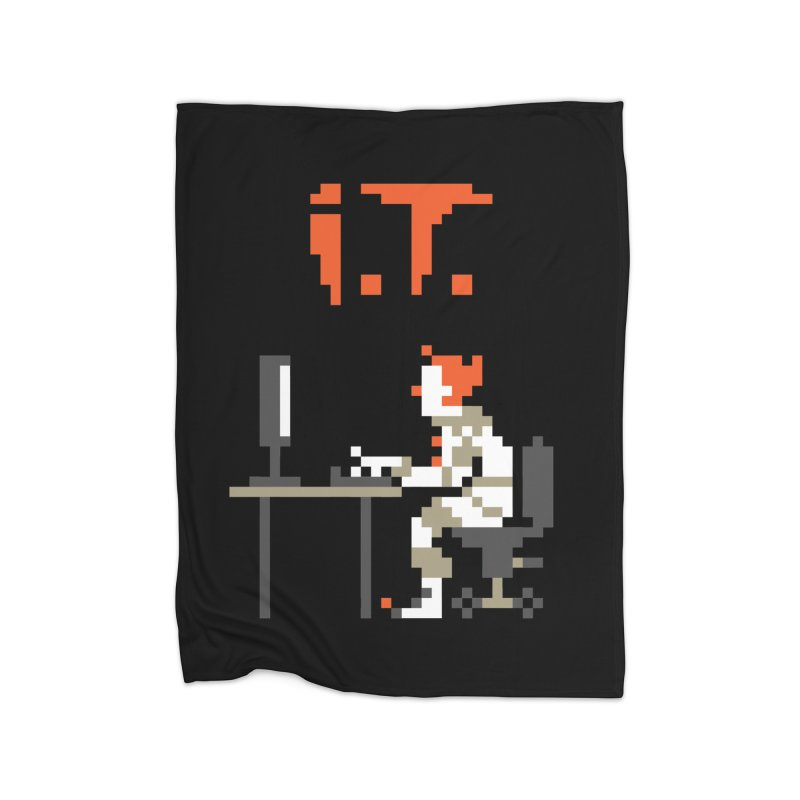 I.T. Home Fleece Blanket Blanket by Mantichore Design