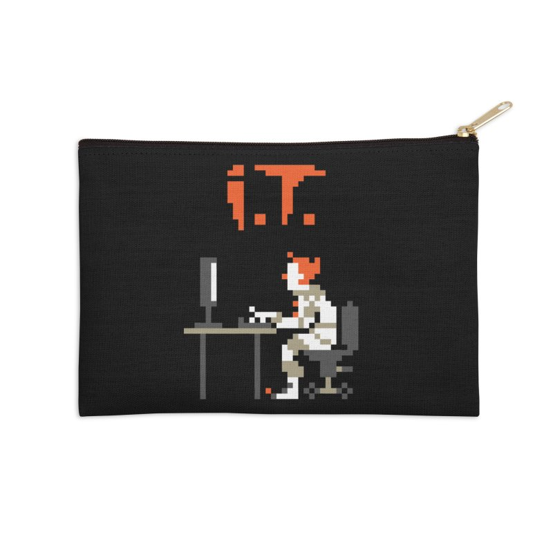 I.T. Accessories Zip Pouch by Mantichore Design